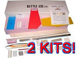 Battle Axe SSC KIT Bulk 2 PackSave $10.00 -  plus save on Shipping!